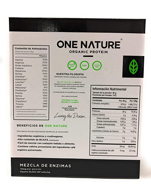 Amazon.com: OPTIGANICS, Vegan Protein Powder 1.27 Pounds (580 gr ...