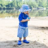 i play Boys' Board Shorts with Built-in Reusable