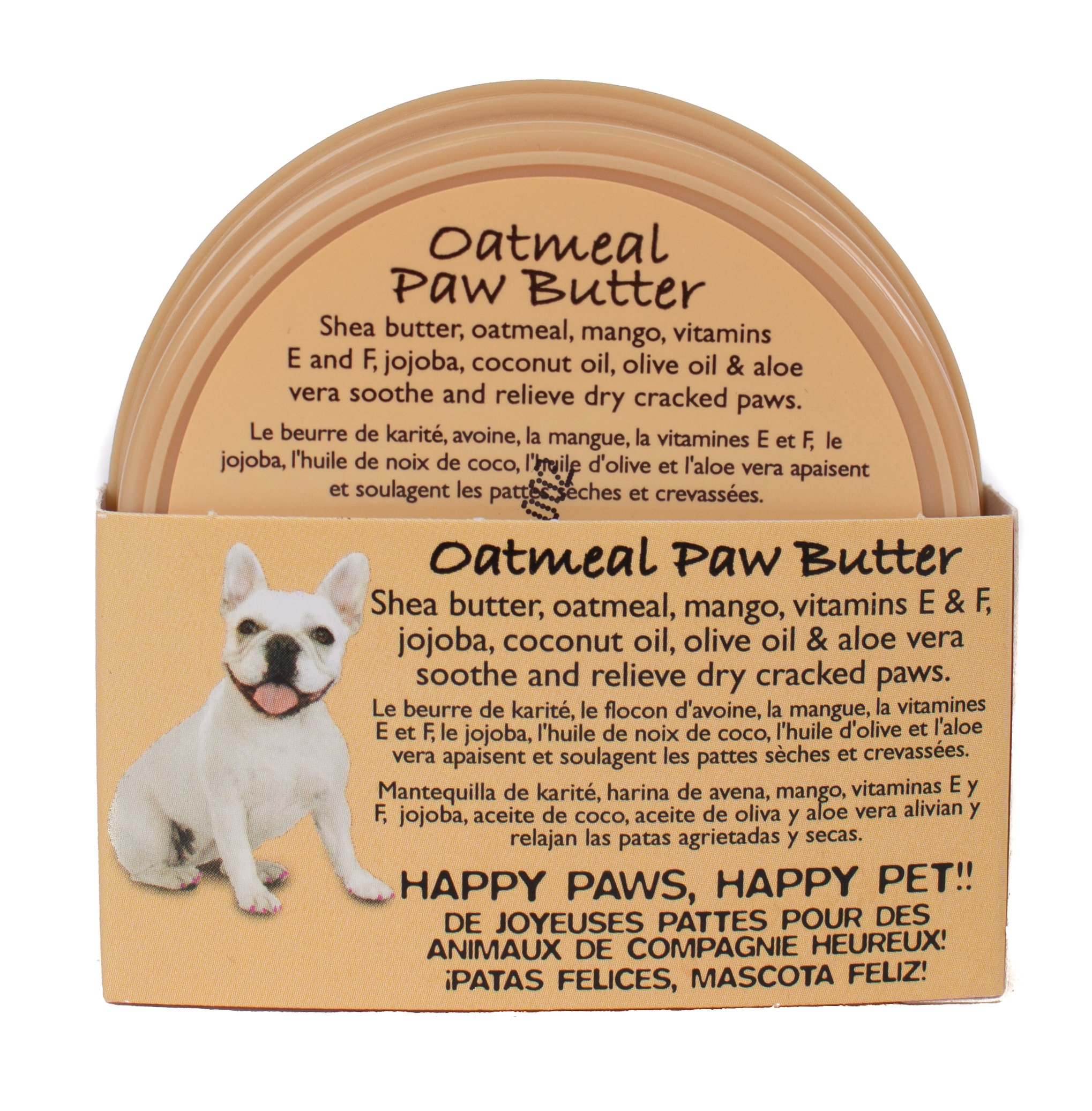 OATMEAL-SCENTED-Pet-Head-Paw-Butter-is-a-paw-moisturizer-made-with-the-delicious-scent-of-Oatmeal-Every-use-youll-enjoy-the-sweet-but-subtle-smell-of-fresh-oatmeal-cookies-that-stays-put-on-your-dog-o