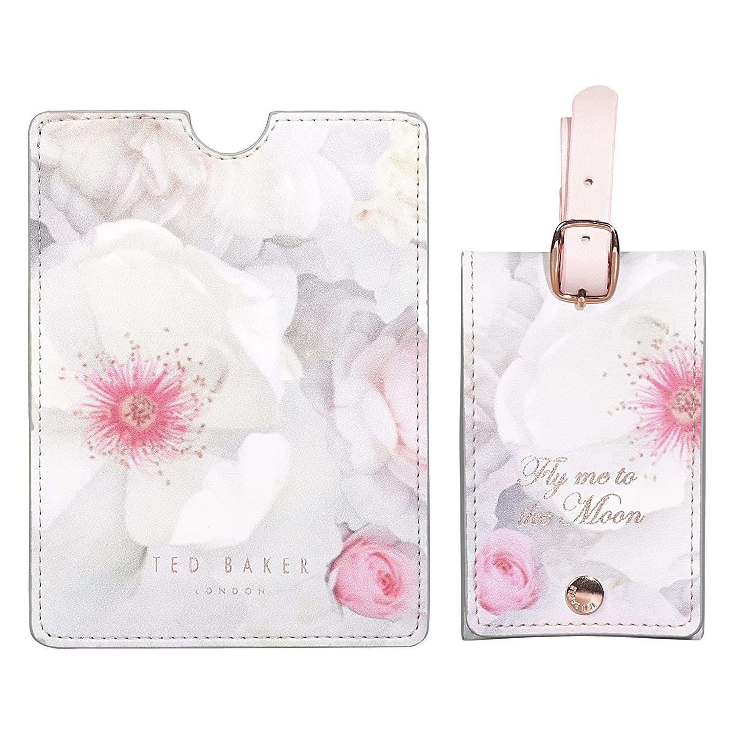 Ted Baker Luggage Tag And Passport Set | Chelsea Border Wild and Wolf ATED953