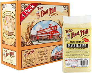 product image for Bob's Red Mill Flour Corn Masa Harina, 24 Ounce, Pack of 4