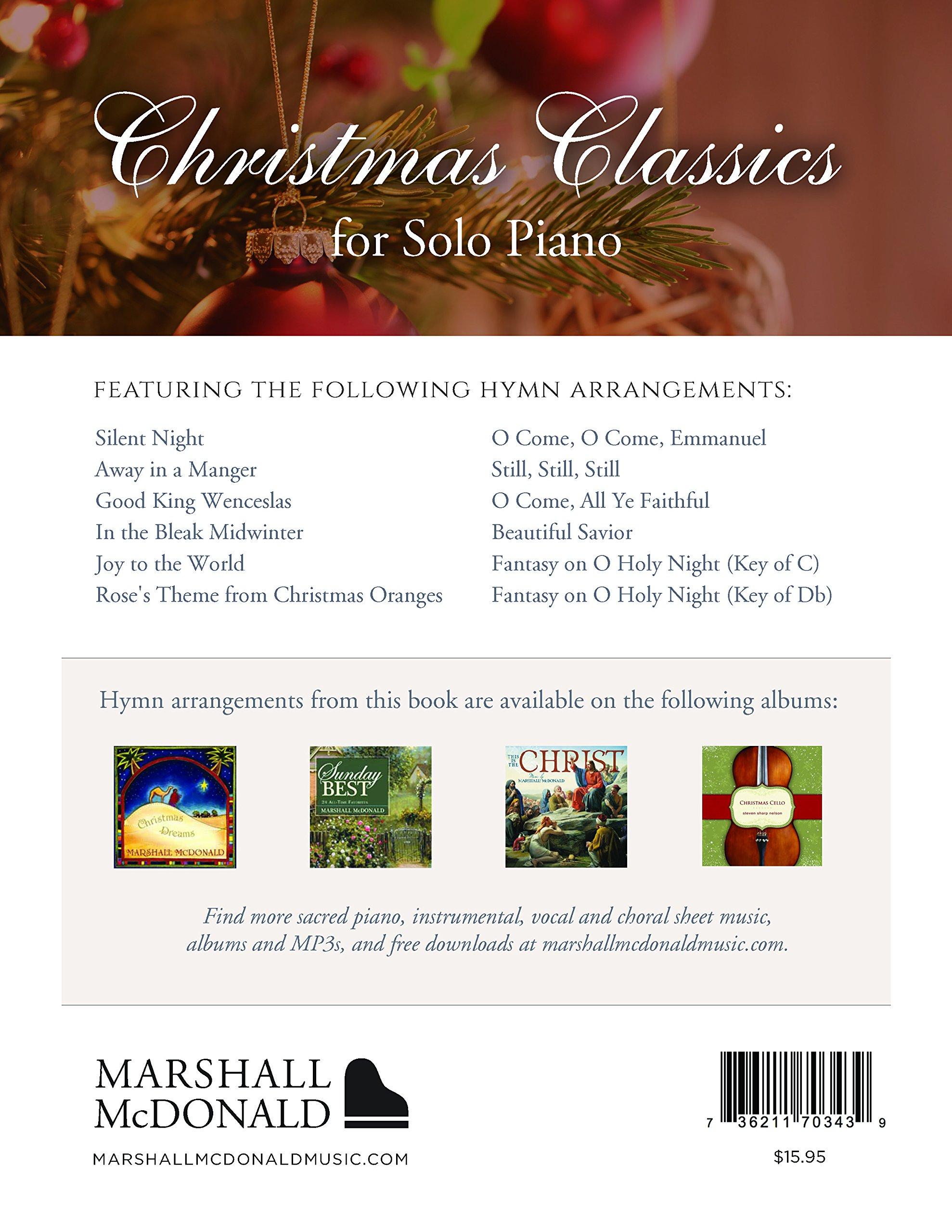 Christmas Classics: Marshall McDonald: 0736211703439: Amazon.com: Books
