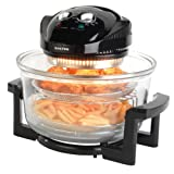 Salter EK1950 Low Fat Fryer Triple Power Halogen Convection Infrared Cooker, 12 Litre