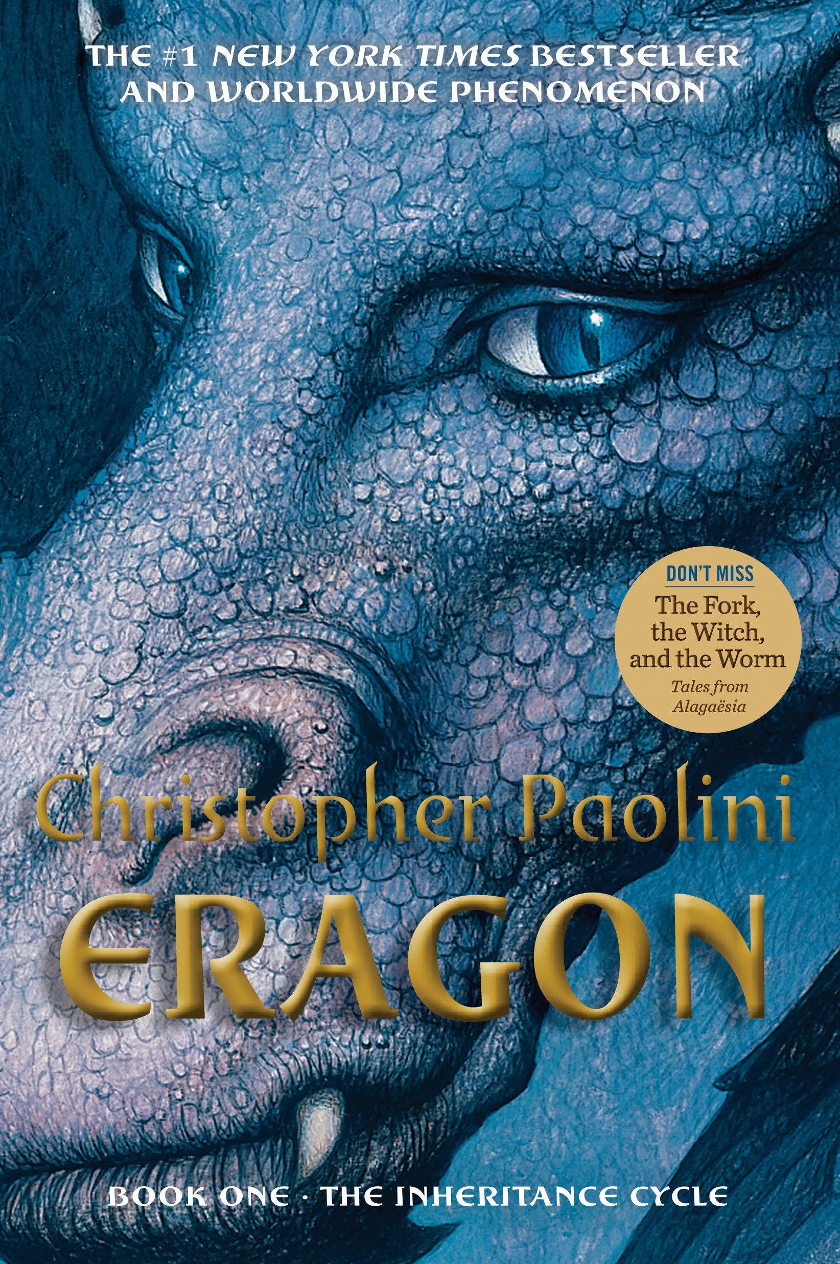 Amazon.com: Eragon (Inheritance, Book 1) (2015375826696): Paolini,  Christopher: Books
