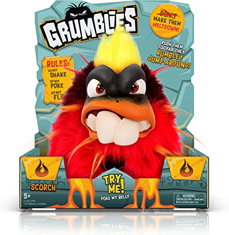 Grumblies Scorch, Red