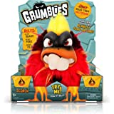 Pomsies Grumblies Scorch Plush Interactive Toys, Red, One Size