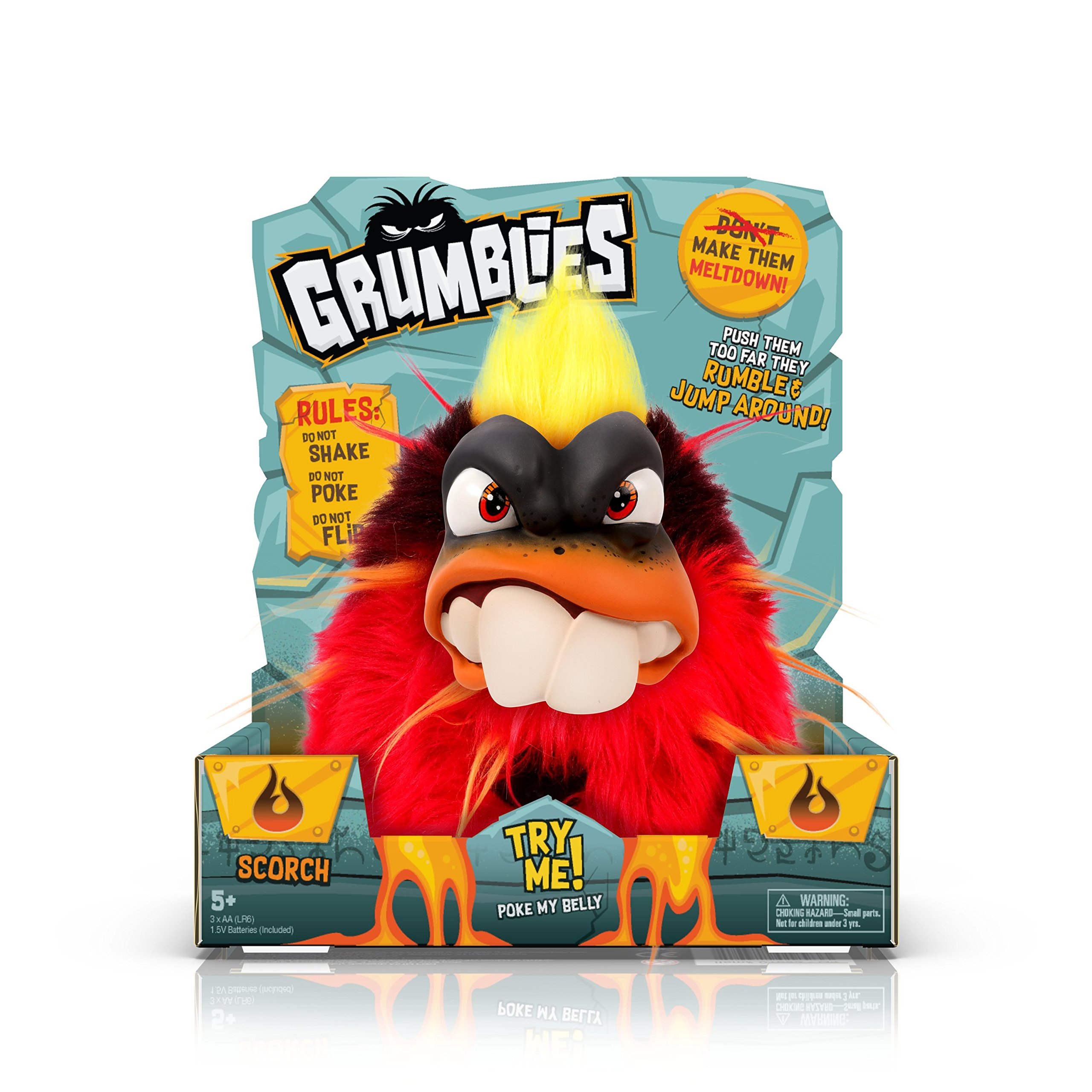 Pomsies Grumblies Scorch, Red