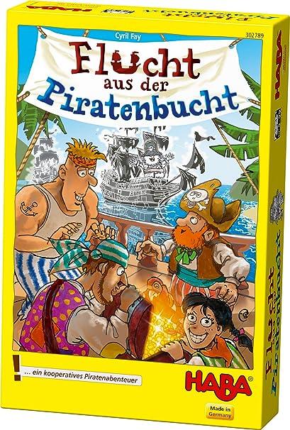 HABA Escape de la Bahía Pirata: Fay, Cyril: Amazon.es: Juguetes y ...