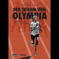Der Traum von Olympia: Die Geschichte von Samia Yusuf Omar (Graphic Novel Paperback) (German Edition) book cover