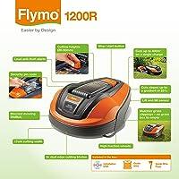 Flymo 1200 R Lithium-Ion Robotic Lawn Mower
