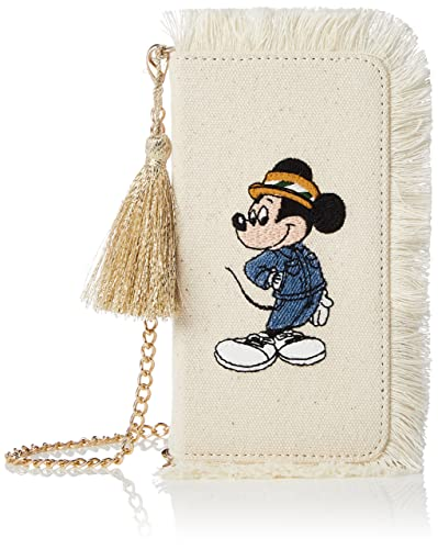 45f13b9c03 [アコモデ] [DISNEY]ディズニー フリンジデコ iPhoneケース ミッキーマウス ミニーマウス iPhone6/