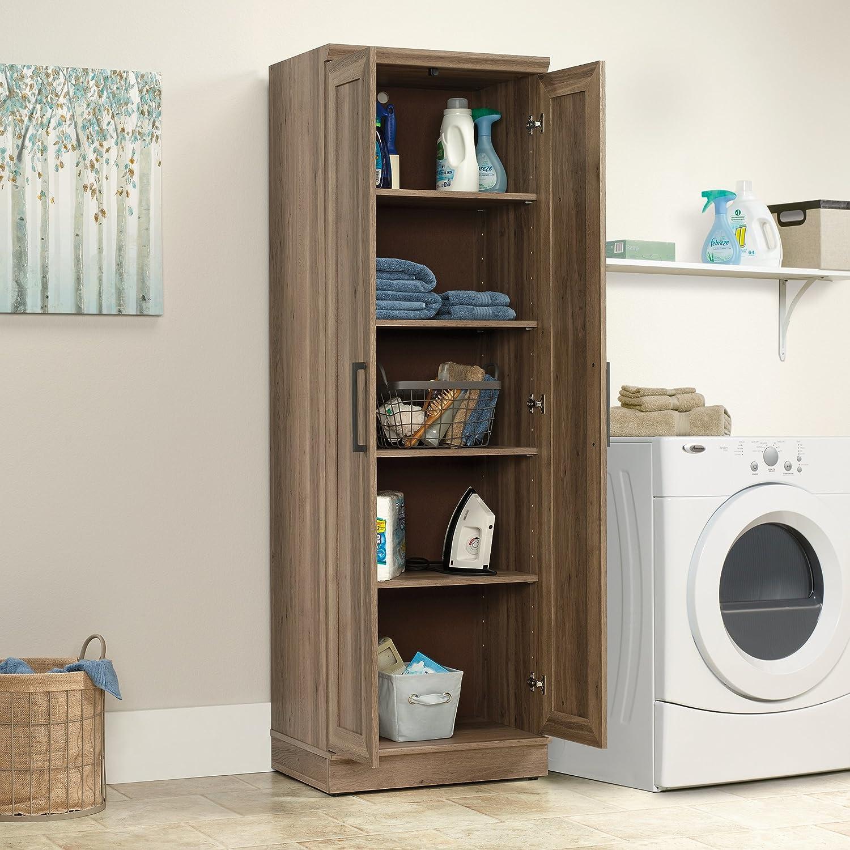 Sauder HomePlus Storage Cabinet, Salt Oak finish