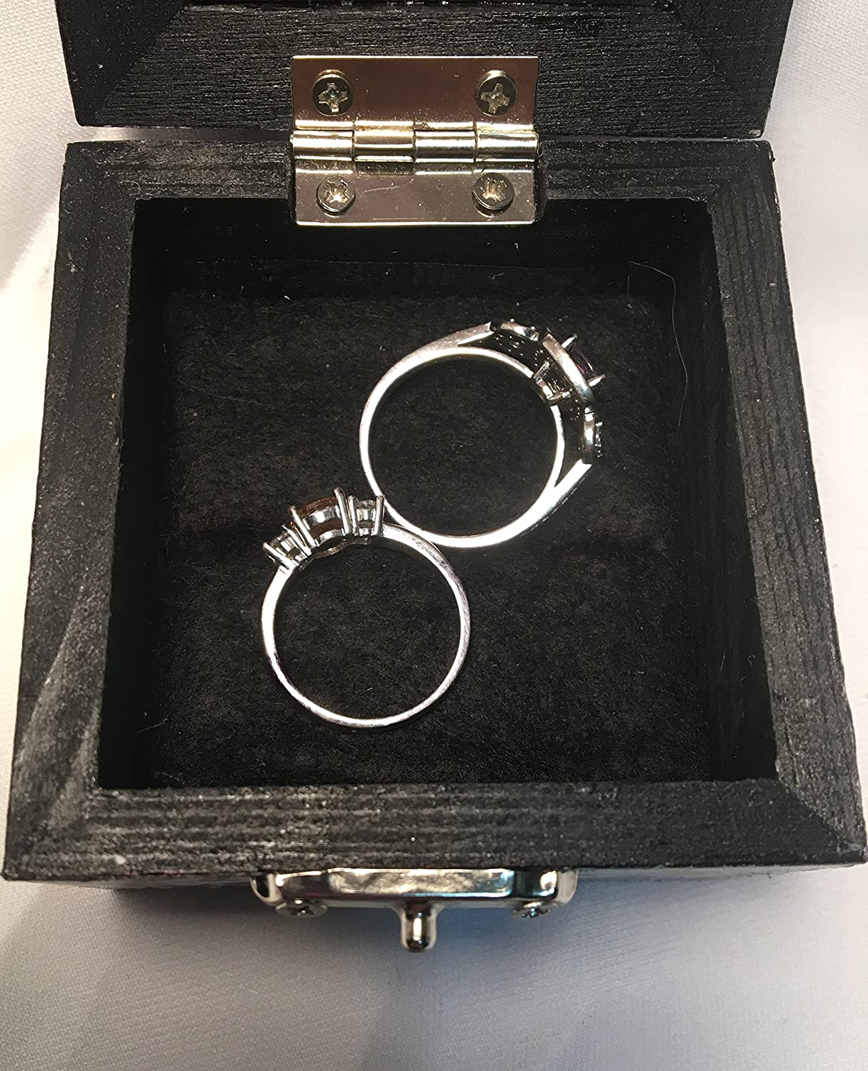 Harry Potter Marauders Map Inspired Proposal Engagement Ring Box