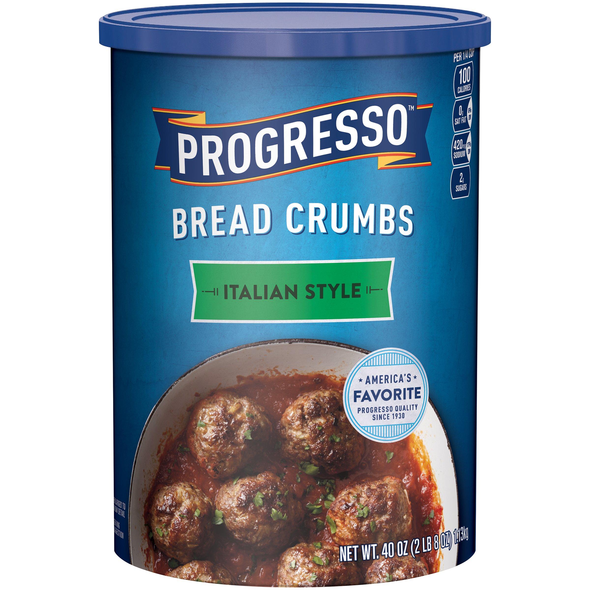 Progresso Italian Style Bread Crumbs, 40 oz (Pack of 3) by Progresso