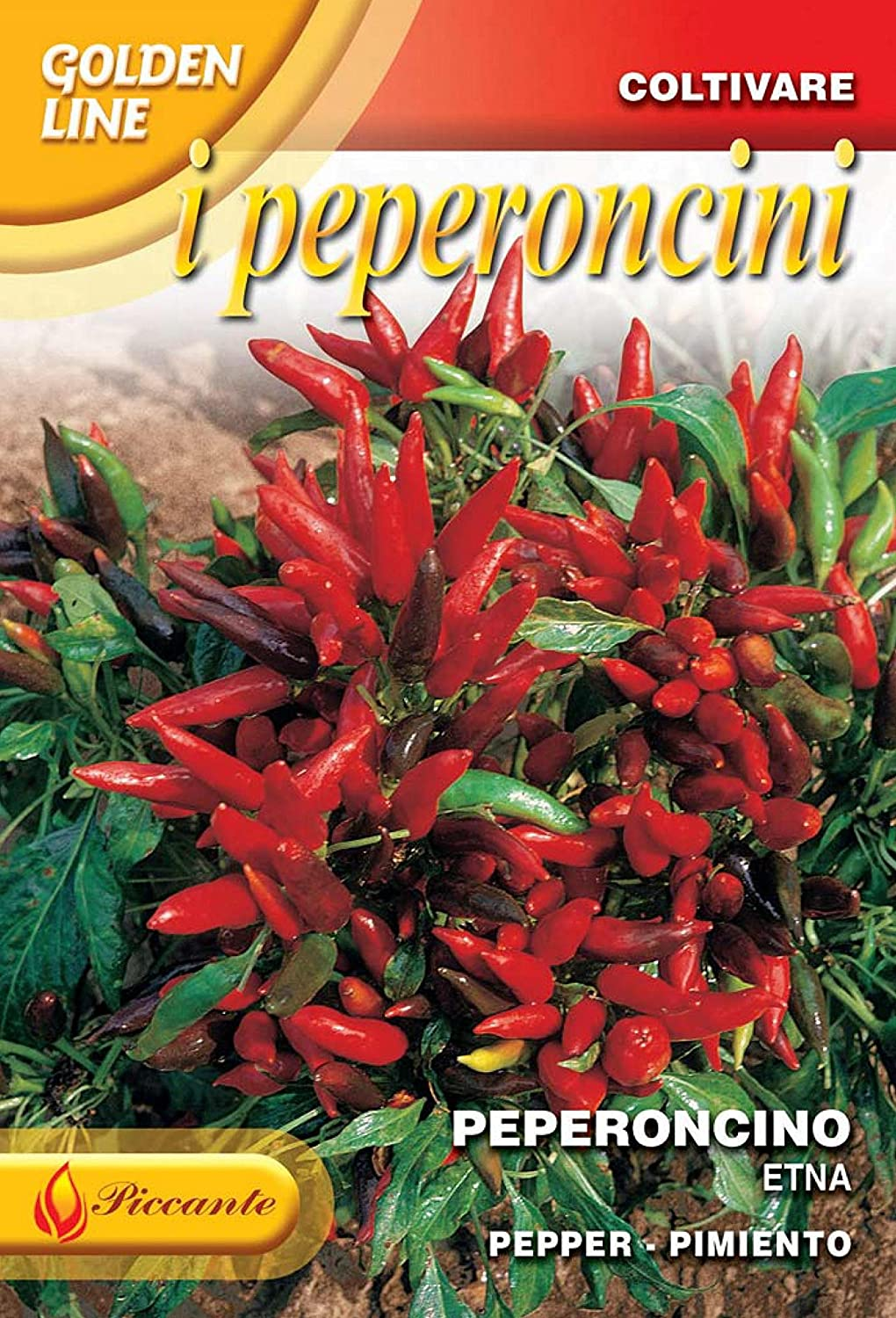 Franchi Seeds of ItalyChilli Pepper Etna Seeds