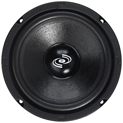 6.5 Inch Car Midbass Woofer - 250 Watt High Powered Car Audio Sound Component Speaker System w/High-Temperature Aluminum Voice Coil, 70Hz-9kHz Frequency, 92 dB, 8 Ohm, 25 oz Magnet - Pyle PDMW6: Car Electronics