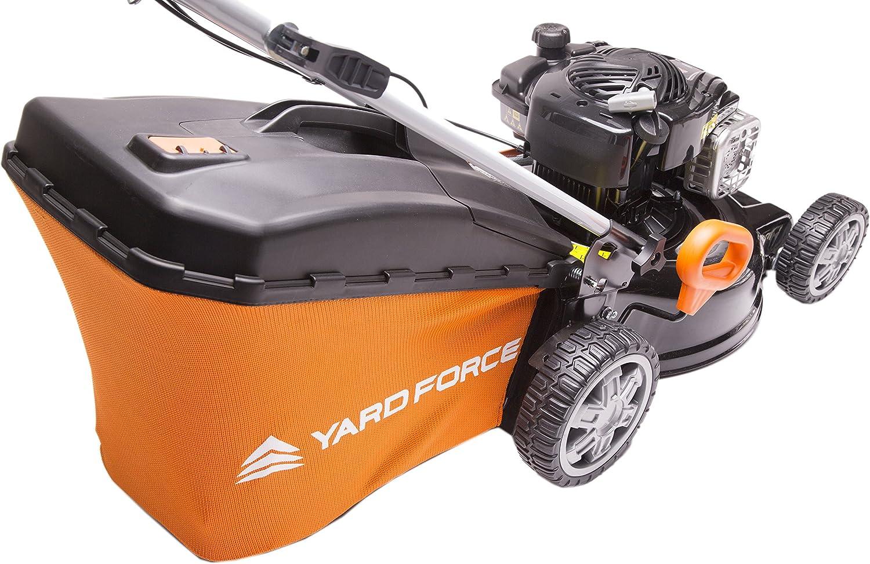 avec moteur 140/cc Briggs /& Stratton S/érie 500 Yard Force Tondeuse /à gazon /à essence rotative autopropuls/ée 46/cm