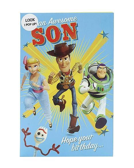 Amazon.com: Tarjeta de cumpleaños para hijo – Tarjeta de ...