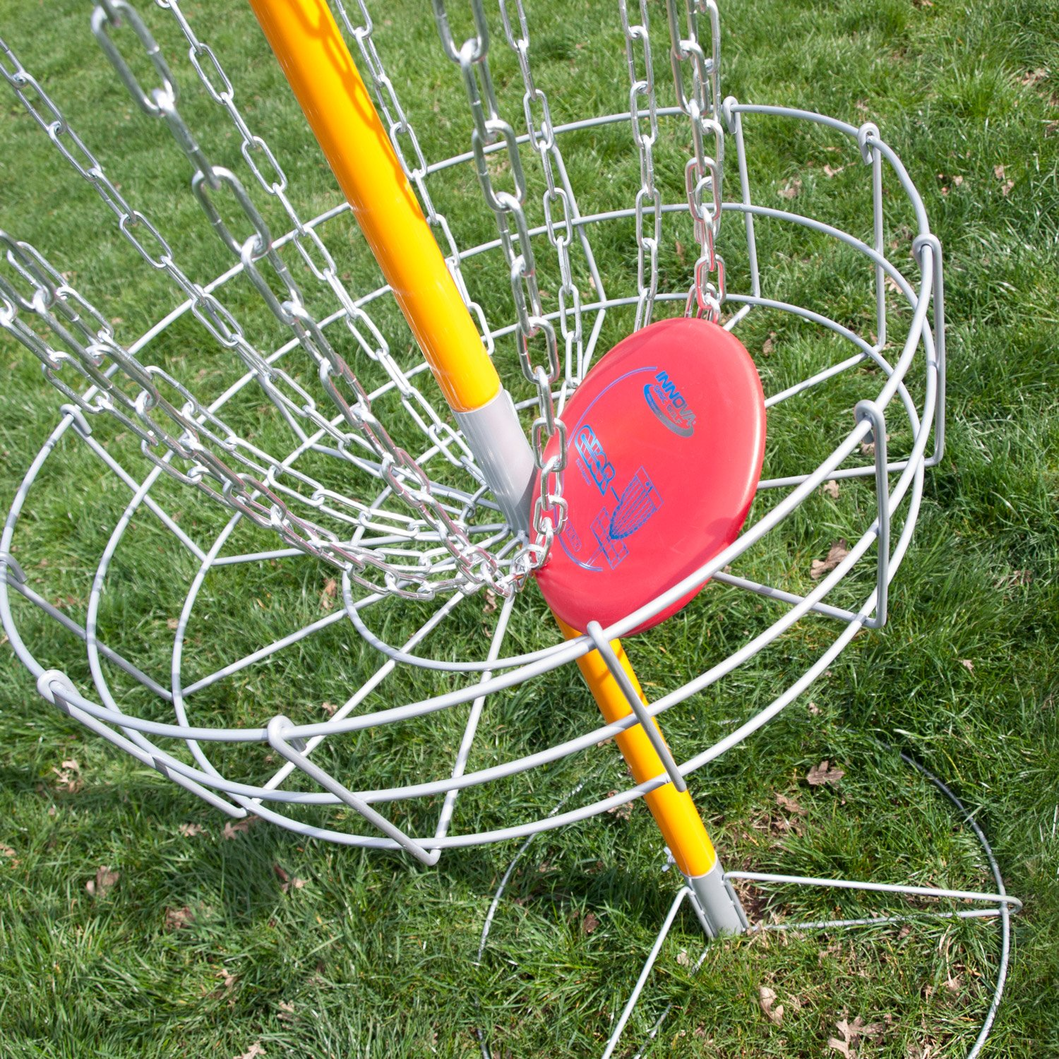 Driftsun Sports Portable Disc Golf Basket Goal, Lightweight Frisbee Target, Steel by Driftsun