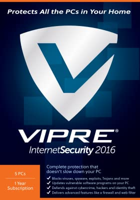 VIPRE Internet Security 5PCs [Download]