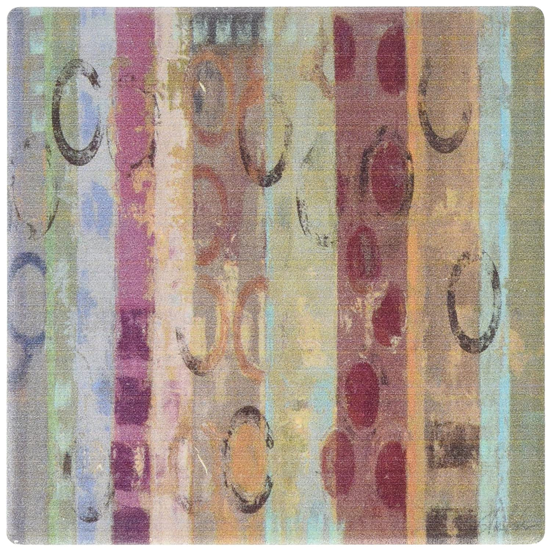 Multicolor FSV4 Thirstystone Magic Carpet Stoneware Coaster