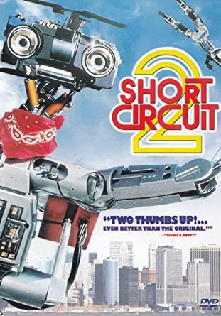 amazon com short circuit 2 dee mccafferty, cynthia gibb, michaelShort Circuit 2 From Left Cynthia Gibb Johnny Five 1988 Ctristar #9