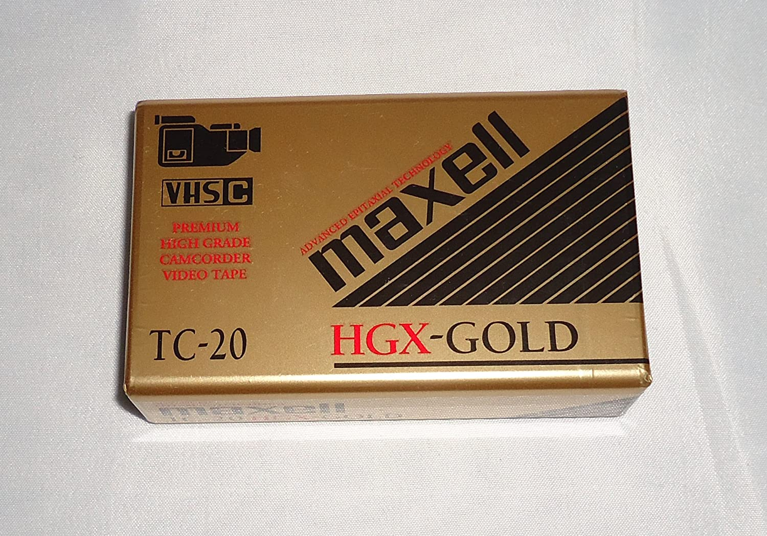 Maxell HGX-Gold 20 Special Event - Blank VHS-C Tape TC-20 HGX(G)