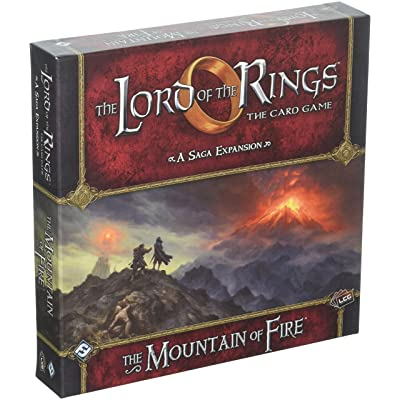 Fantasy Flight Games the Lord of the Rings: the Card Game Mountain of Fire Saga Expansion Living: Toys & Games