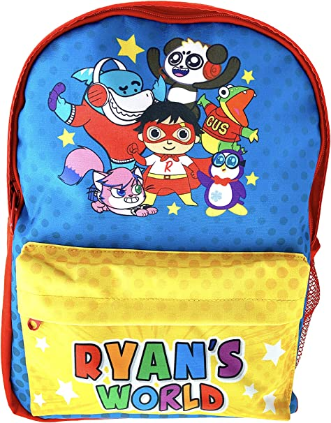 Boys Gifts Ryans Toy Review Ryans World Backpack for Boys Stationary Supplies Ryans World Toys Gifts for Girls Back to School Cool Things