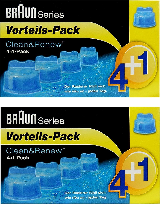 Braun Clean & Renew CCR 4 + 2 unidades Pack 4 + 1 1 – 5 x 170 ml: Amazon.es: Bricolaje y herramientas