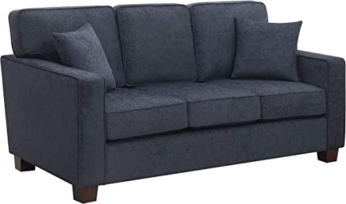 Ave Six Russell 3 Seater Sofa, Navy