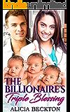 The Billionaire's Triple Blessing (A Bwwm, Billionaire, Older Man, Younger Woman, Nurse, Surprise Triplets, Bitter Friends, Romance Book 1)