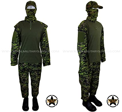 323589fc TACTICAL COMBAT SHIRT CADPAT ↺. Amazon com Tactical Operator Kit Canada  Army Digital Camouflage