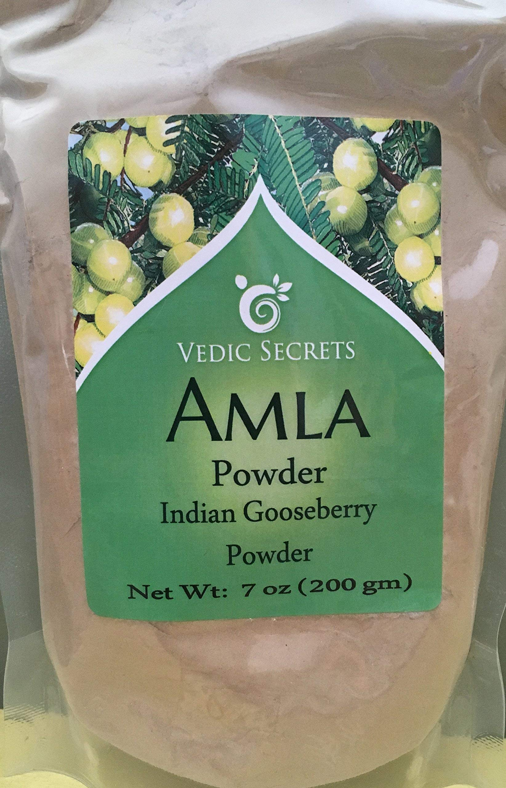 Vedic Secrets Amla (Indian Gooseberry) Powder - 200 Grams