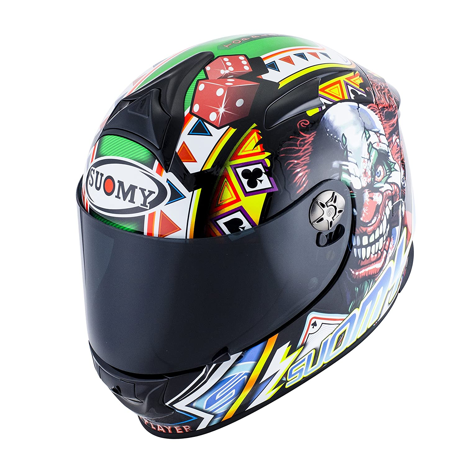 Amazon.es: SUOMY SR Sport - Casco para Moto Integral, Multicolor (Gamble Top Player), M