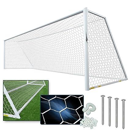 10cafe813 Amazon.com : AGORA 8' x 24' Channel Pro Regulation Size Soccer Goal ...