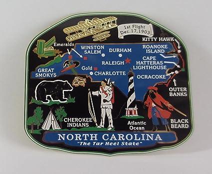 Amazon Com Jackson Pacific North Carolina State Magnet Charlotte