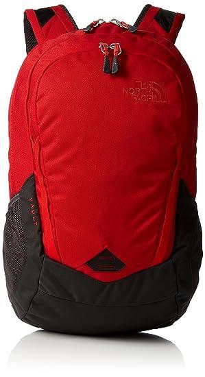 0ed4b22cb The North Face Vault Laptop Backpack- Sale Colors (Rage Red/Asphalt Grey)