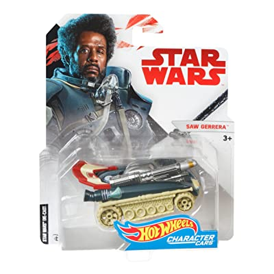 Hot Wheels Star Wars Saw Gerrera Vehicle: Toys & Games