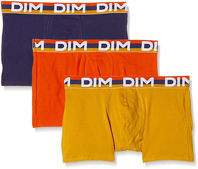 Dim Best Fashion Color Full, Culotte para Hombre, Amarillo/Naranja / Azul,