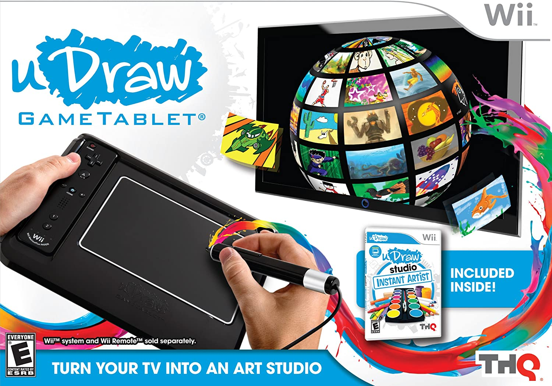 Amazon com: uDraw Game tablet with uDraw Studio: Instant