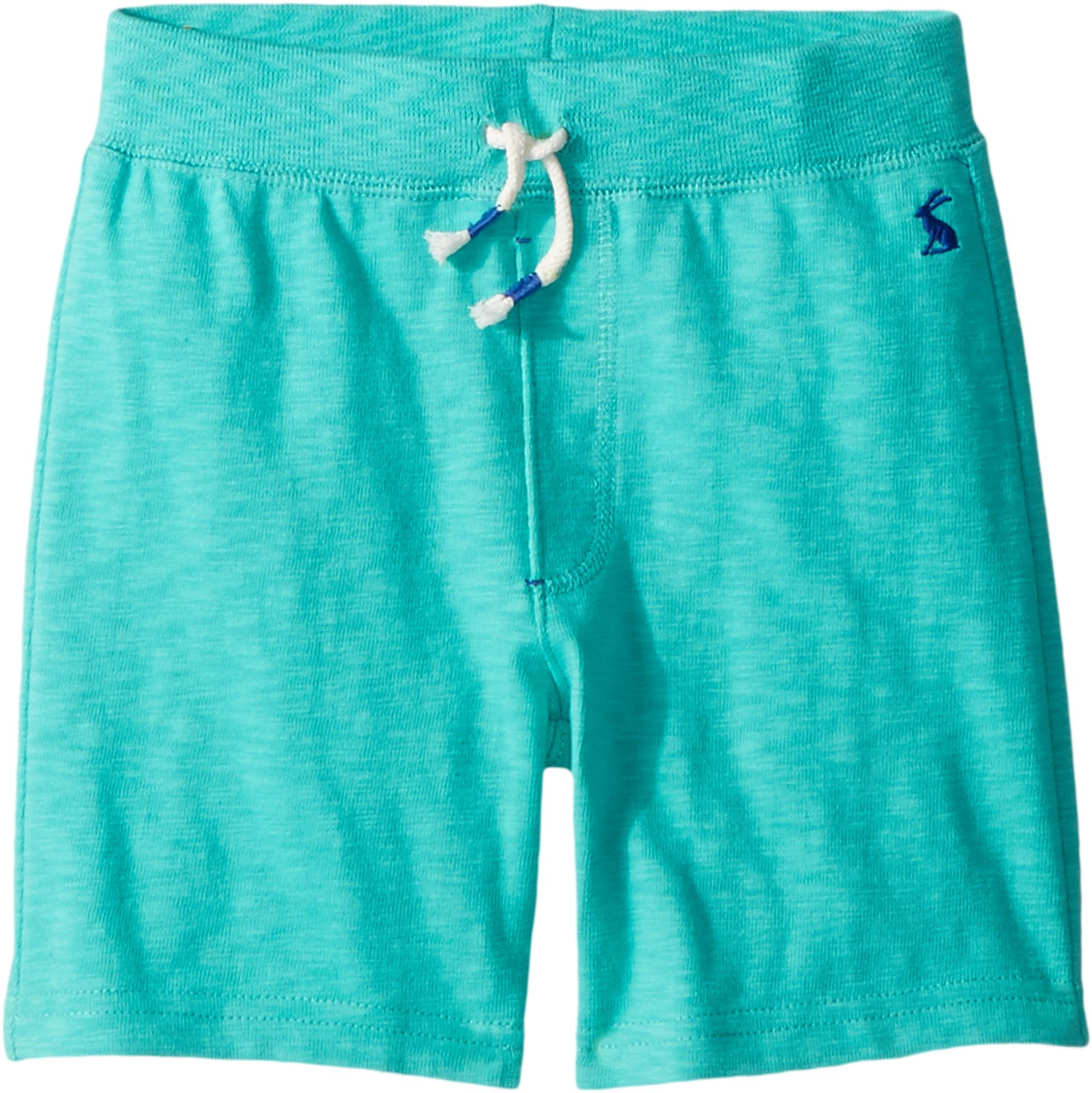 Joules Kids Baby Boy's Drawstring Jersey Shorts (Toddler/Little Kids) Turquoise 2