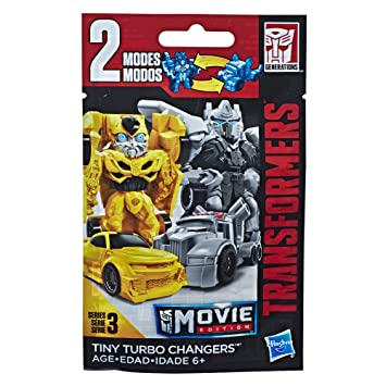 Amazon.com: Transformers: Bumblebee -- Tiny Turbo Changers Series 3: Hasbro: Toys & Games