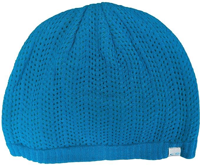C9 Champion Women s Knit Lined Beanie Cap (Blue Green Underlayer Contrast) 1888ab0484e