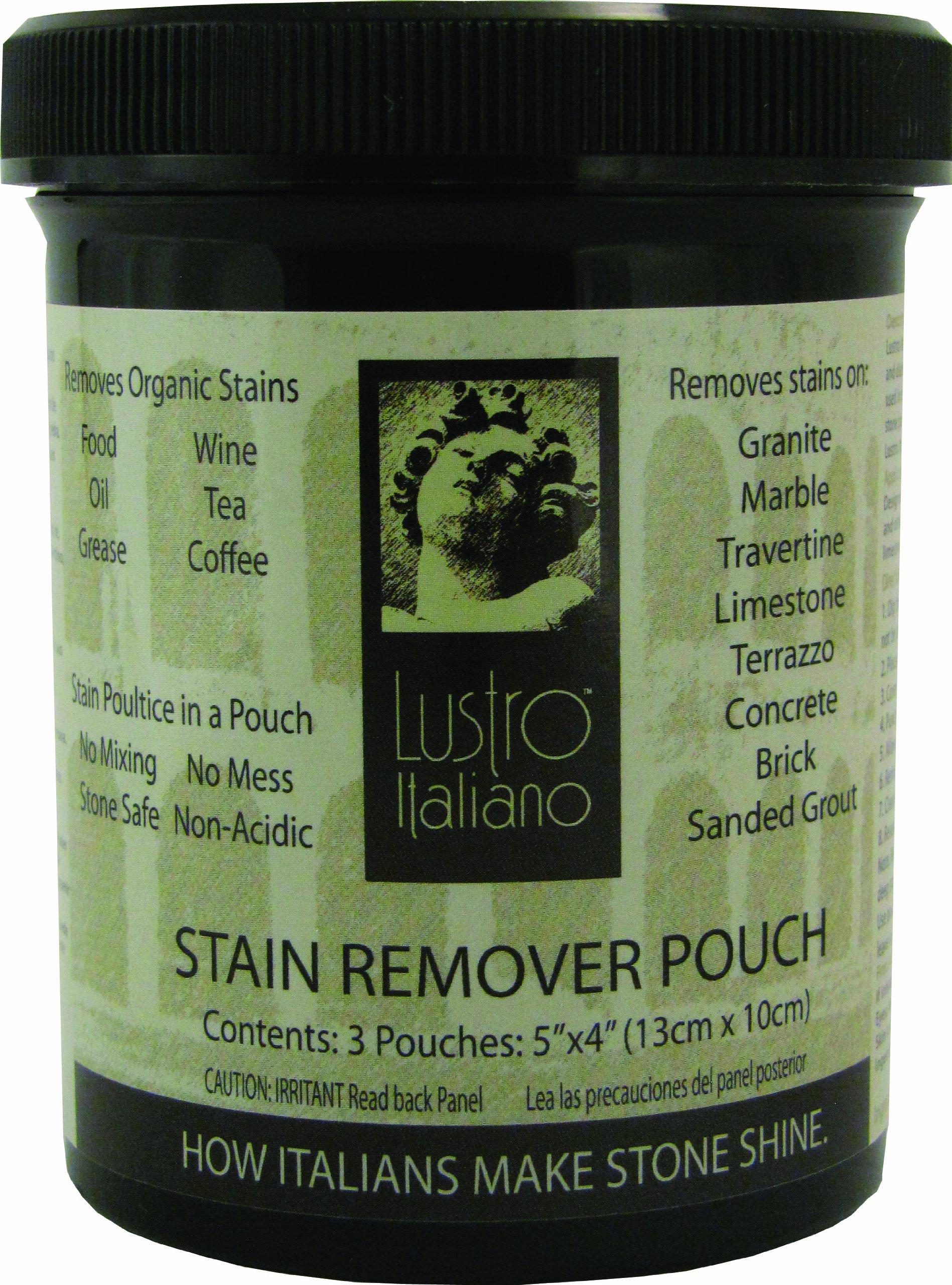 Lustro Italiano Poultice Pouch, 3-Pouch