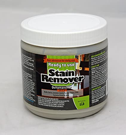 Ready to Use Stain Remover for Granite & Other Natural Stone - Oil, Grease &