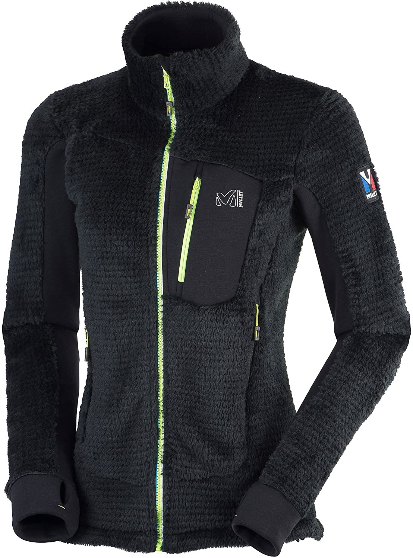 pretty nice cd2af ba9d7 Millet LD Powder Fle J Women's Fleece Jacket, black, XS ...