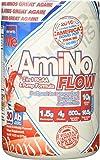 Amino Flow BCAA Powder - 2-In-1 Amino Nitric Oxide Supplement, America Bob Pop, 30 Serving