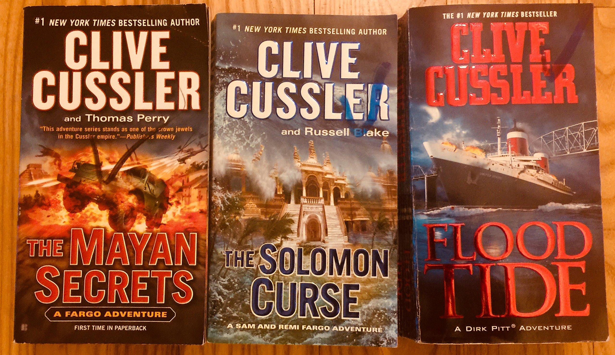 1) The Mayan Secrets 2) The Solomon Curse 3) Flood Tide: Clive Cussler:  0000047008120: Amazon.com: Books