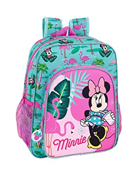 "Minnie Mouse ""Palms"" Oficial Mochila Escolar Junior 320x120x380mm"